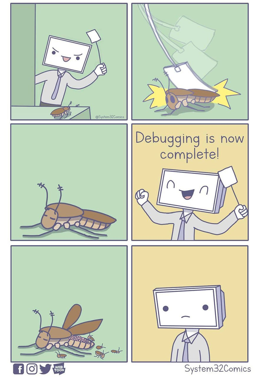 The Experience Of Debugging In One Picture