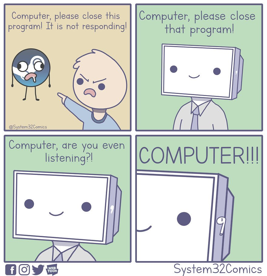 Computer Is Not Responding
