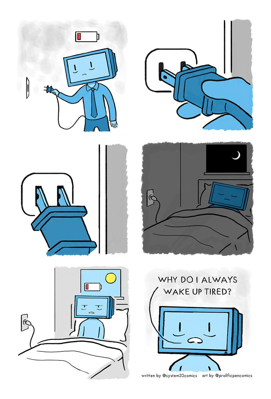 Recharging [collaboration With Prolificpencomics]