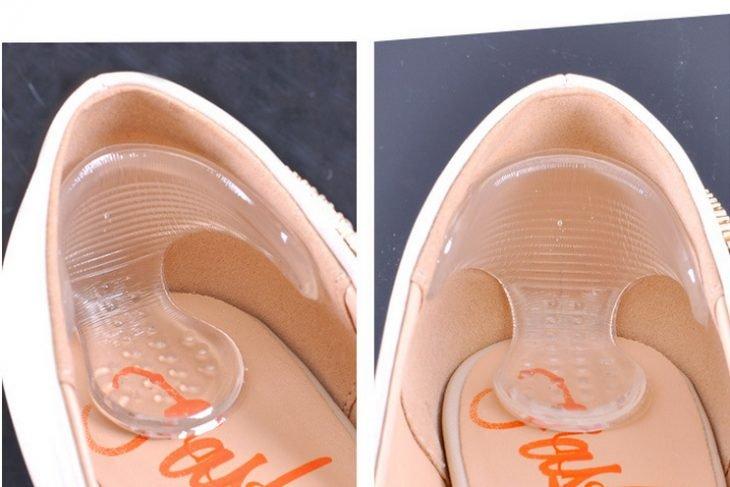 Tiras de silicona ortopédicas para usar en los zapatos