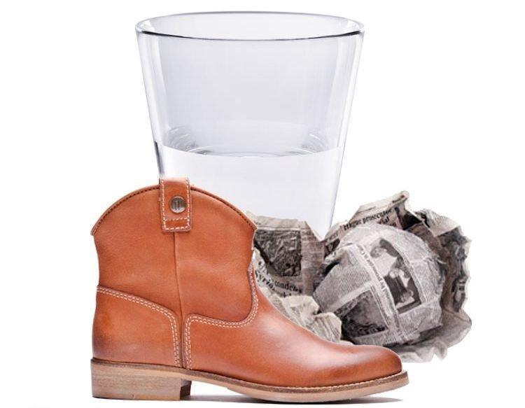 Resultado de imagen de alcohol y papel zapatos