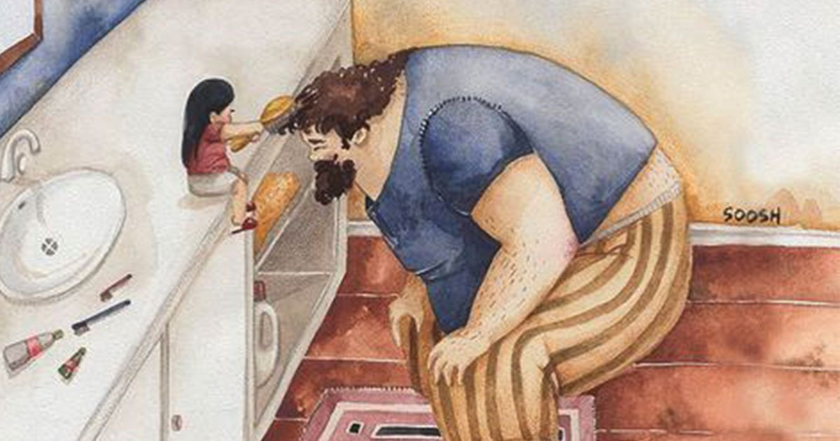 15 beautiful illustrations show the love between father and daughter.jpg?resize=366,290 - 15 belles illustrations montrant l'amour entre un père et sa fille