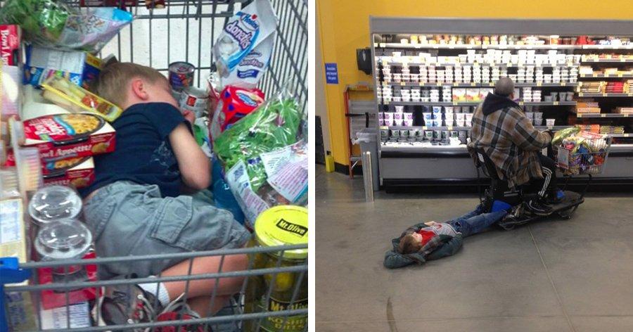 a4 25.jpg?resize=1200,630 - Isso é o que acontece quando você obriga seu filho a fazer compras com você