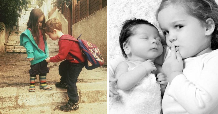 a9 1.jpg?resize=412,232 - 20 Fotos que mostram a alegria de ter irmãos e irmãs