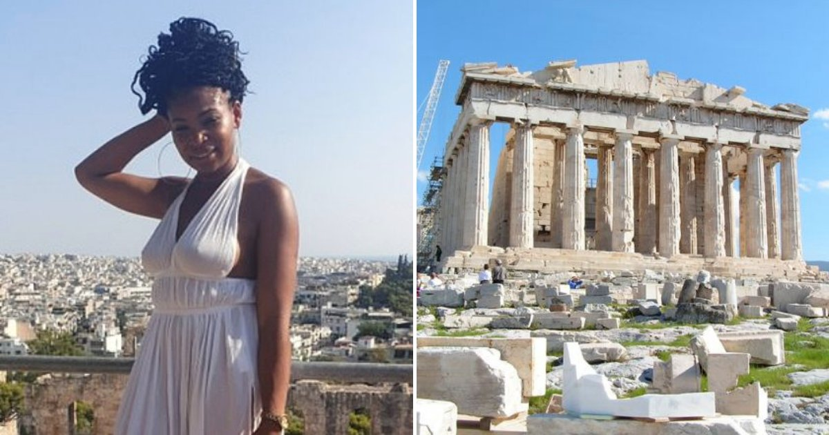 athens5.png?resize=412,232 - Woman Says She Was Arrested For Wearing 'Inappropriate Clothing' At the Acropolis In Athens