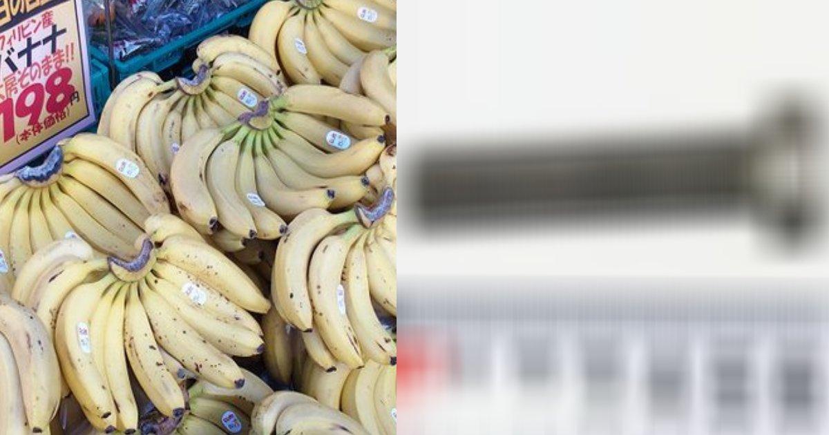 banana.png?resize=412,232 - バナナ購入の際にはきちんと確認が必要?女性の体内の中で〇〇が見つかり救急搬送!
