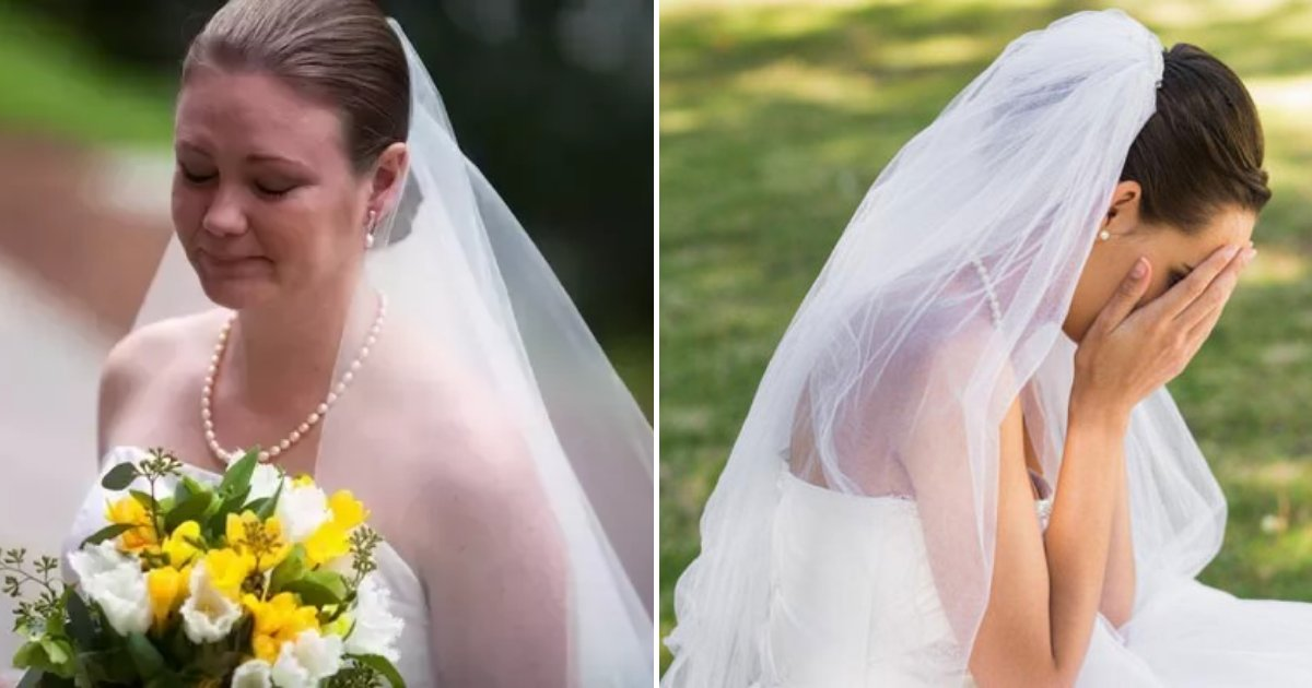 bride5.png?resize=1200,630 - Bride Accidentally Ruins $14K Wedding Dress After Drinking Detox Drinks Before Big Day