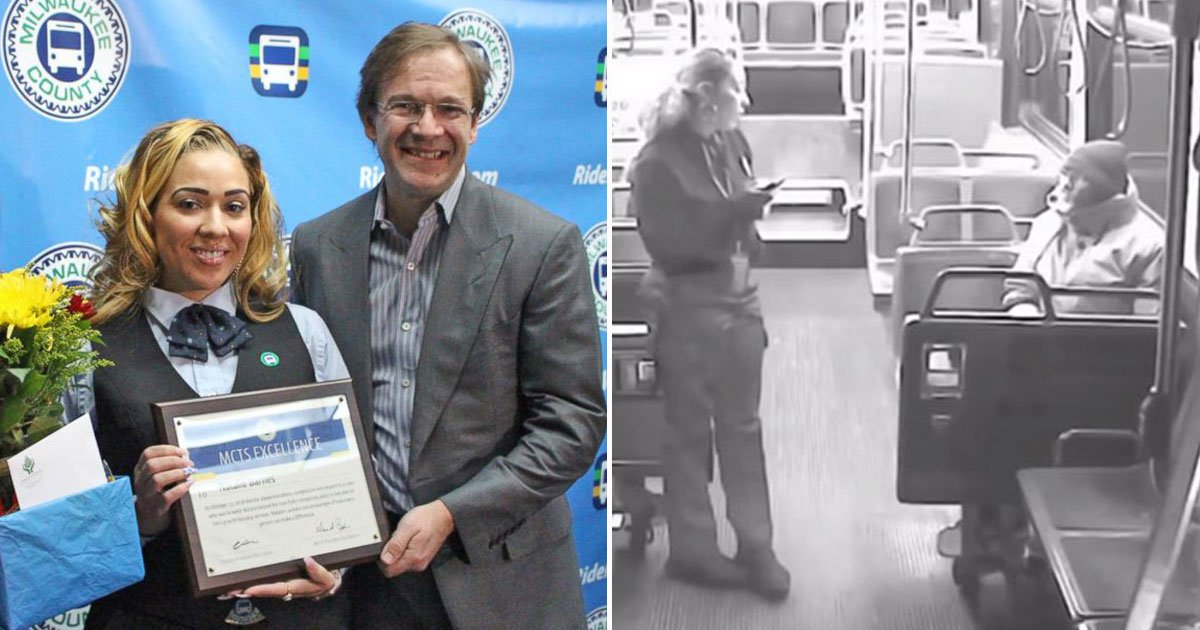 bus driver helps hemeless.jpg?resize=412,232 - Bus Driver Honored By The Transit Agency After Helping A Homeless Passenger