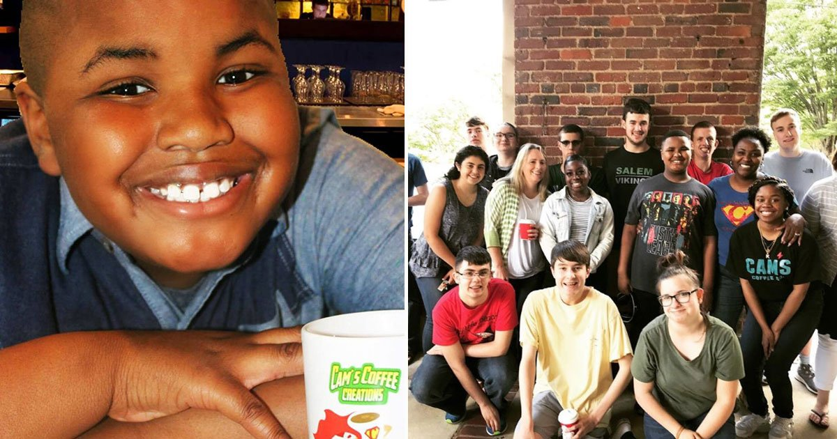 camden coffee shop.jpg?resize=412,232 - 9-Year-Old Has Become A Successful Entrepreneur Who Employs People With Special Needs