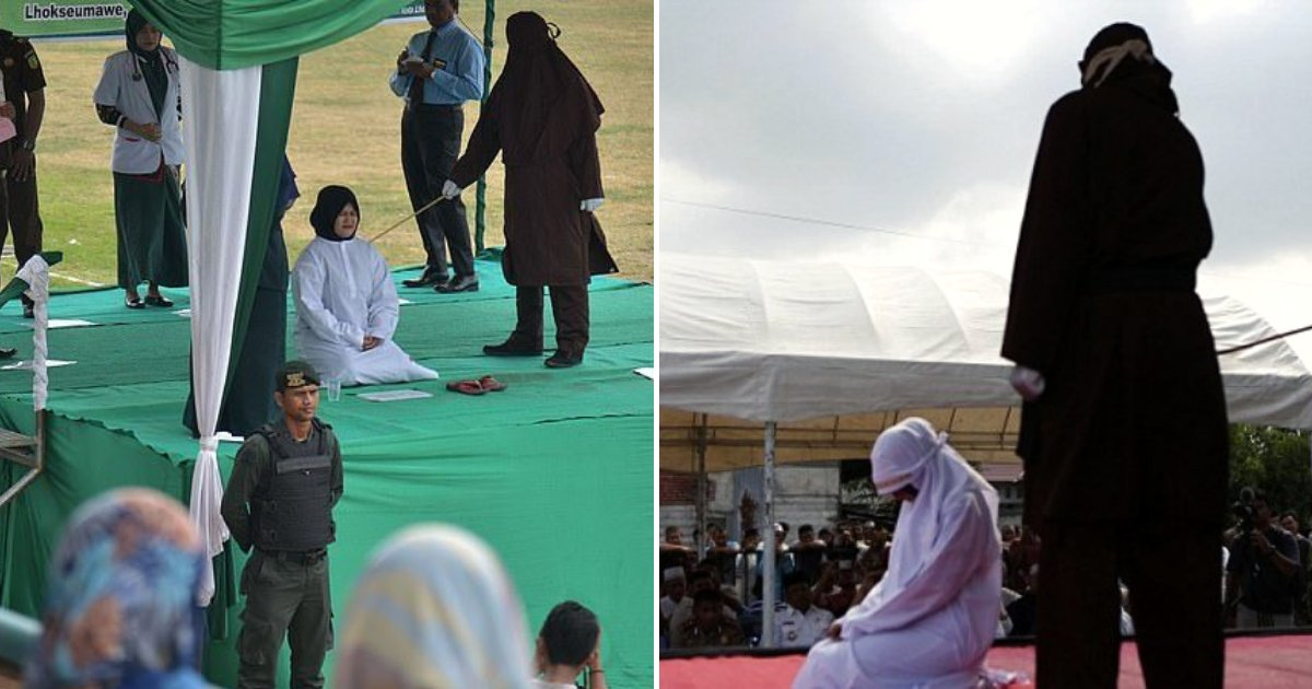 caned5.png?resize=412,232 - 22-Year-Old Woman Broke Down After Public Ceremony