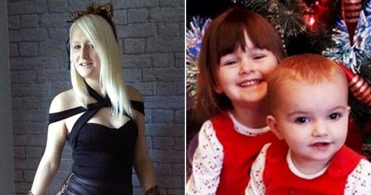 children3.png?resize=412,232 - Une mère de 23 ans a ri pendant les funérailles de sa fille et a dit que son autre enfant «sera le prochain»