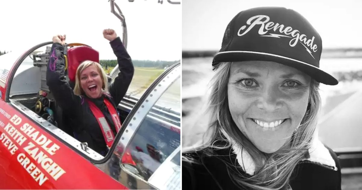 combs5.png?resize=412,232 - 'Fastest Woman On Four Wheels' Passed Away Aged 36 After Crashing Her Car As She Tried To Beat Own Record