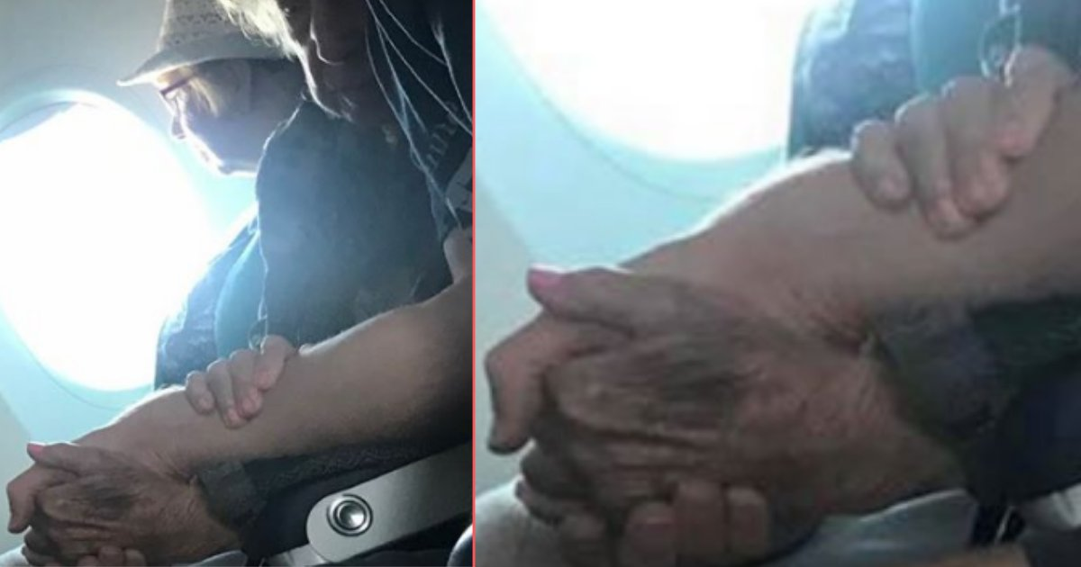 d 1 2.png?resize=1200,630 - Stranger Turns Out to be A Flight Angel for the 96 Year Old Virginia During Her Birthday Trip