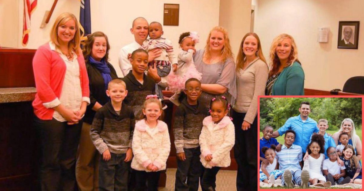 d1 5.png?resize=1200,630 - To Avoid Separation of 6 Siblings, Michigan Couple Adopted All of Them