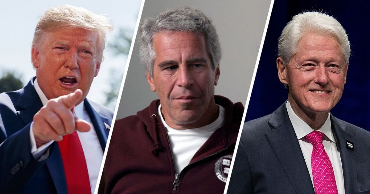 """e3 1.jpg?resize=412,232 - Trump Said He Had """"No Idea"""" If The Clintons Had Anything To Do With Epstein's Death"""