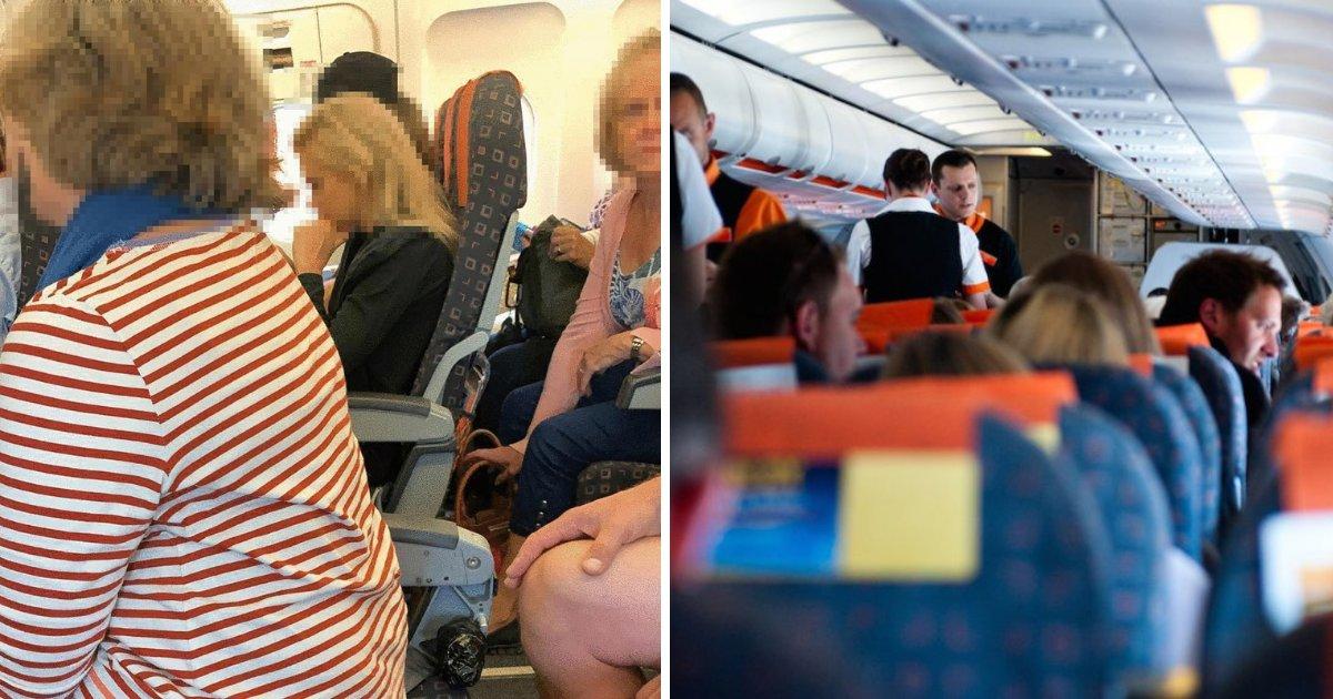 easyjet2.png?resize=412,232 - Des passagers ont été forcés de s'asseoir sur des sièges sans dossier dans un avion d'EasyJet