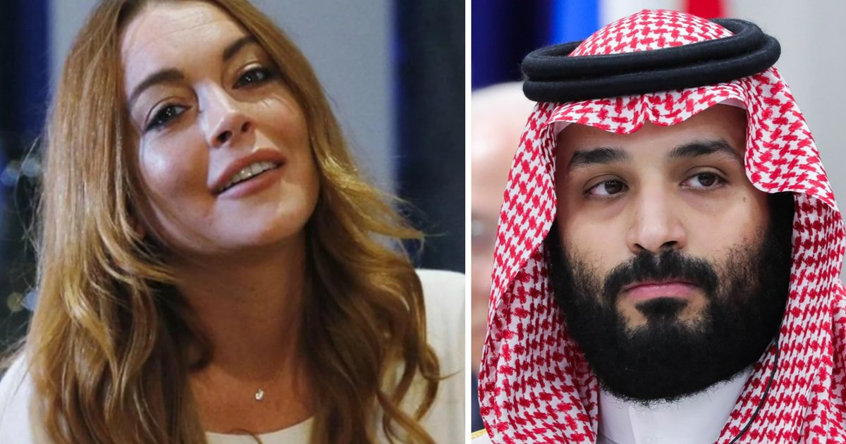 featured image 28.png?resize=412,232 - Lindsay Lohan And Prince Muhammad Bin Salman Are Reportedly 'Getting Close' To Each Other
