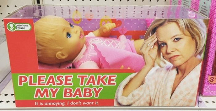 funny fake toy3 5c04e4962a0ef  700 e1565428887604.jpg?resize=412,232 - 27 Fake But Funny Gifts Of 'Obvious Plant' In Stores Are Waiting For You