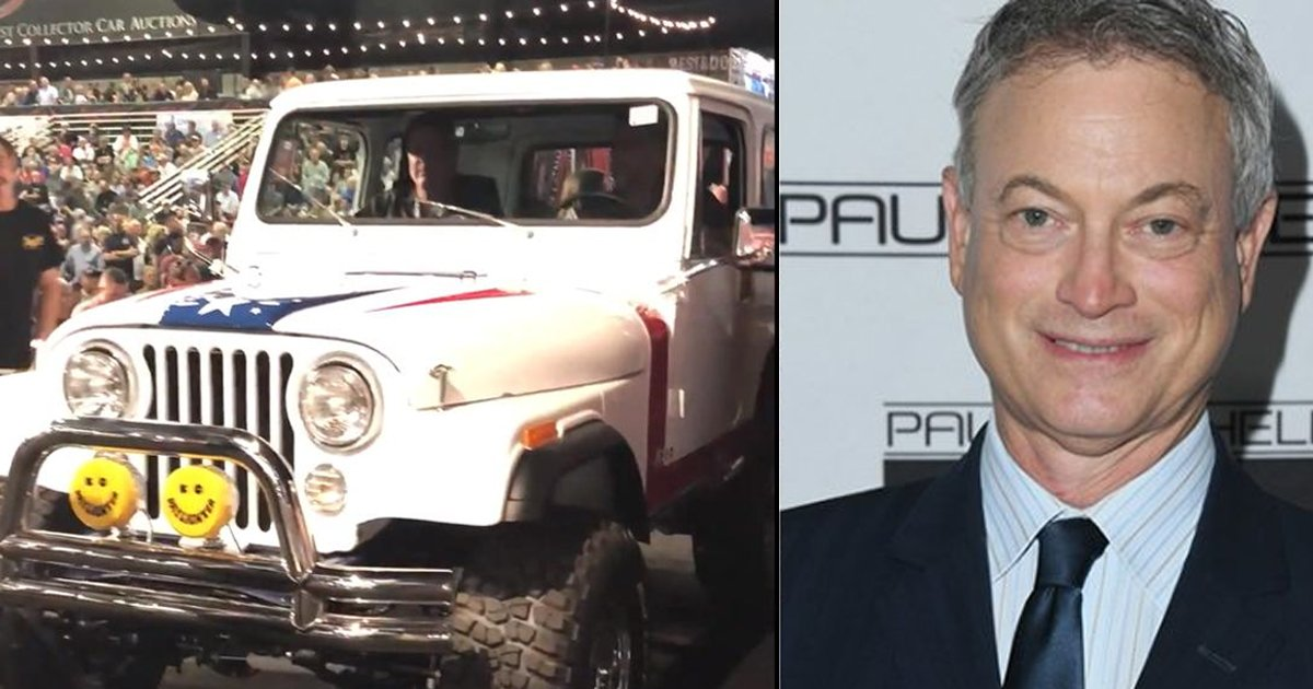 ggg 2.jpg?resize=412,232 - Meet Gary Sinise Who Sold His Jeep To Raise Donation Of $1.3 Million For Vets