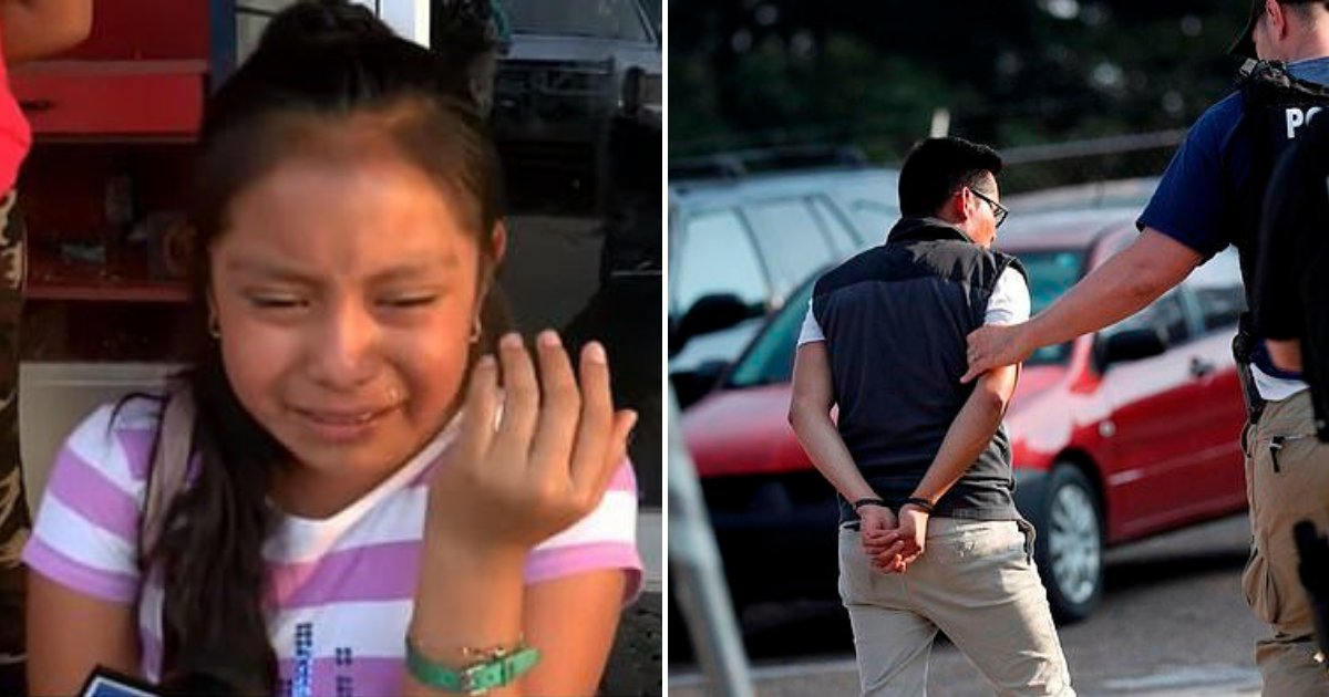 girl3.png?resize=412,232 - 11-Year-Old Girl Begged For Her Father's Release As Almost 700 People Were Detained In ICE Raid