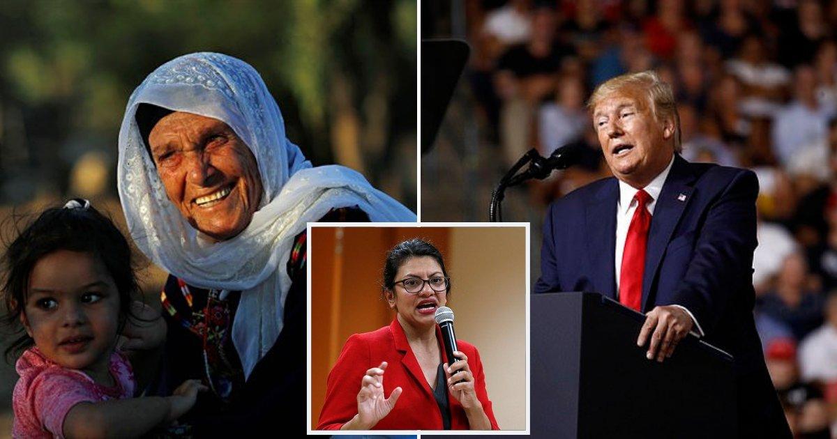 grandma5.png?resize=412,232 - Rep. Rashida Tlaib's Grandmother Hits Back At President Trump After Row Over Congresswoman's Visa To Visit Israel