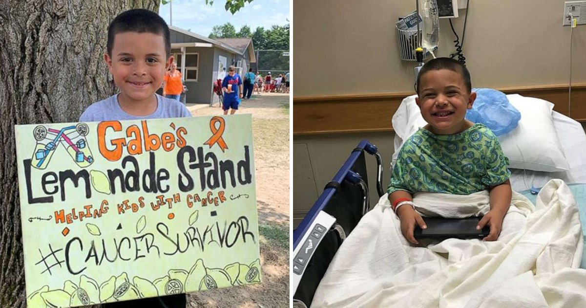 gsggdsdg.jpg?resize=1200,630 - A Five Year Old Boy Raised Funds For Cancer Patients After Himself Fighting With Cancer For 3 Years