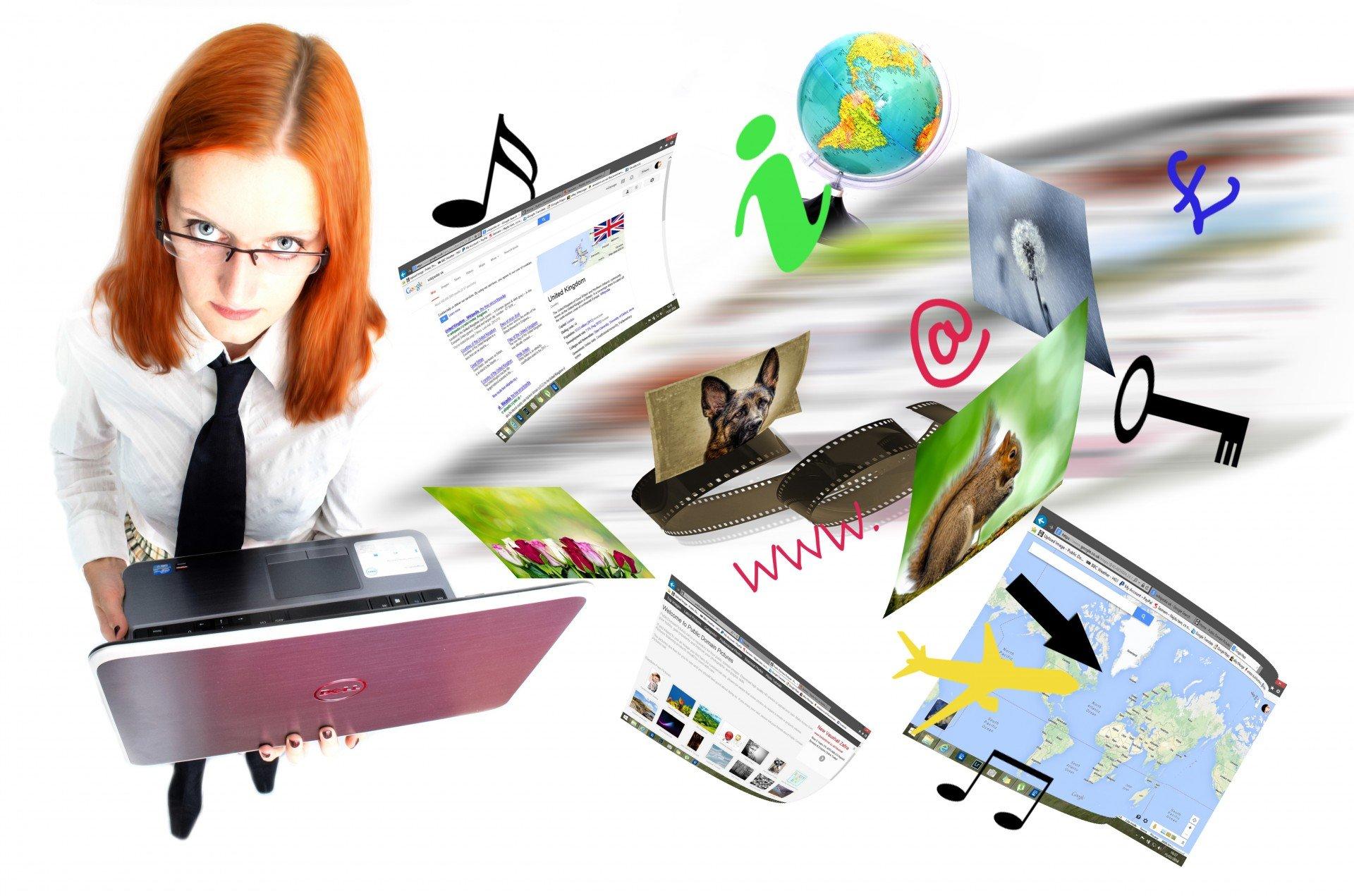 internet and multimedia sharing.jpg?resize=412,232 - Accro aux réseaux sociaux et privée de téléphone, une ado tweet depuis son frigo connecté