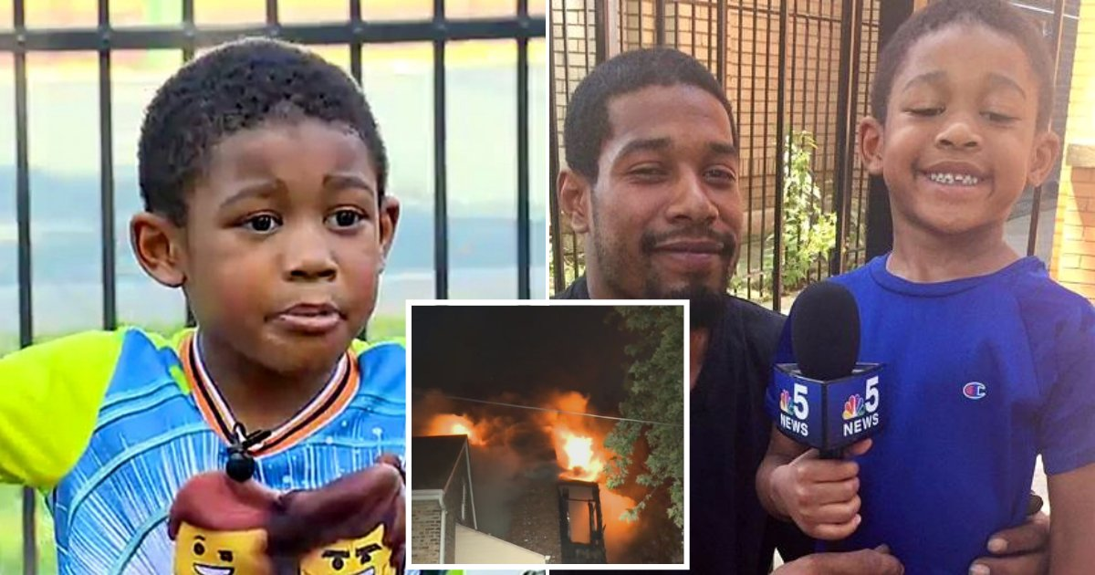 jayden5.png?resize=412,232 - Quick-Thinking 5-Year-Old Boy Saves 13 People From Fire When Their Home Went Up In Flames