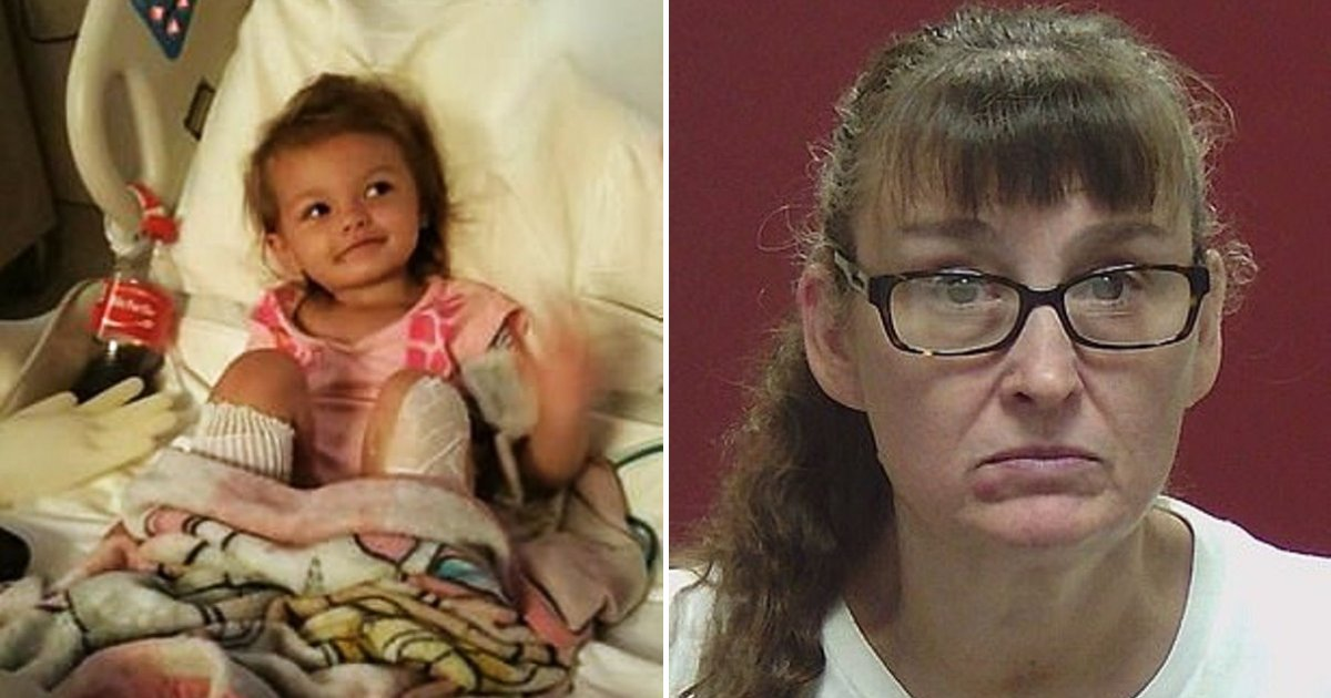 kaylee4.png?resize=1200,630 - Grandmother Held On $150,000 Bond After Dipping Young Girl's Feet In Hot Water