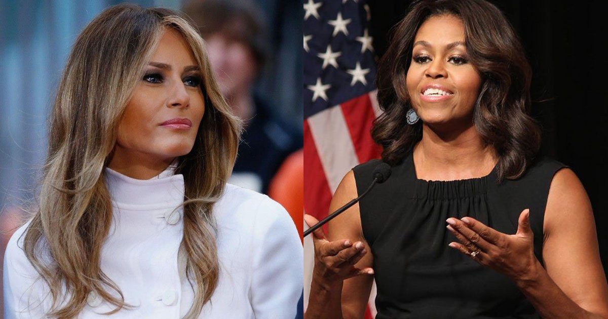 melania trumps spokeswoman explained why the first lady never has reached out to michelle obama for advice.jpg?resize=1200,630 - Melania Trump's Spokeswoman Explained Why The First Lady Never Reached Out To Michelle Obama For Advice