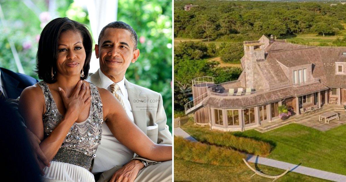 obama.png?resize=1200,630 - Michelle et Barack Obama vont acheter un domaine d'une valeur de 13 millions d'euros après être tombés amoureux de cette propriété en bord de mer