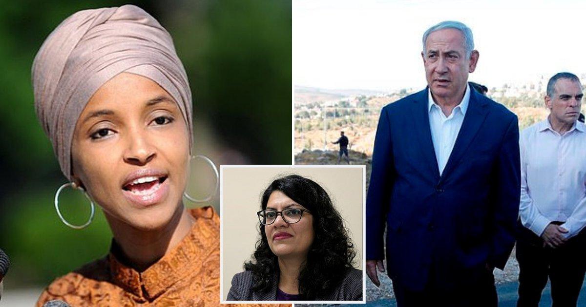 omar2.png?resize=1200,630 - Ilhan Omar Slams Benjamin Netanyahu For Banning Her And Rashida Tlaib From Visiting Israel