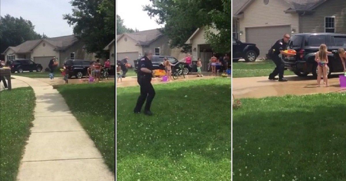 p4 1.jpg?resize=300,169 - Vidéo : La police s'invite à des batailles d'eau