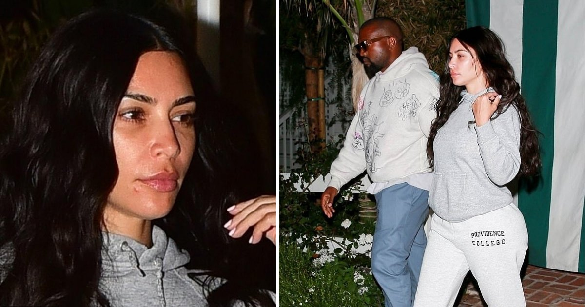 s5 7.png?resize=412,232 - Kim Kardashian Stepped Out In A Makeup-Free Look For Dinner With Injured Kanye West