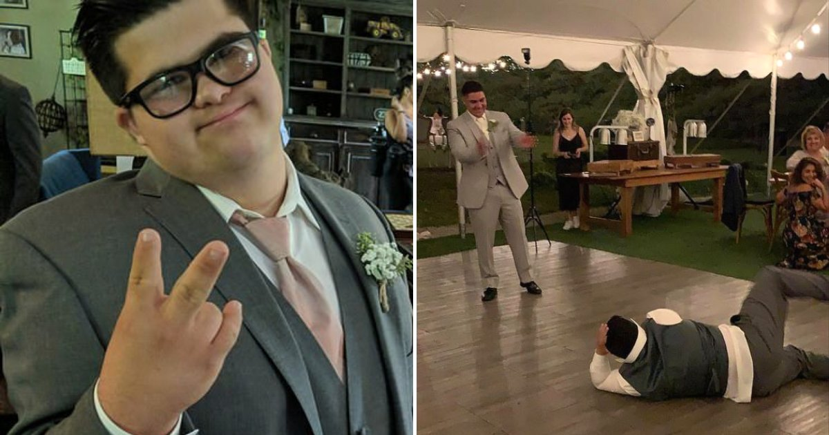 sam5.png?resize=1200,630 - Teen With Down Syndrome Challenged Groom To Dance Battle After Thinking He Was The One Who Will Marry The Bride