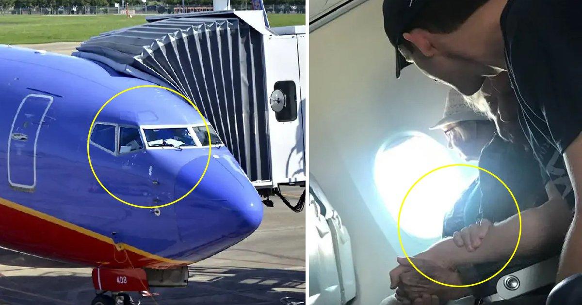 sdfsdfsd.jpg?resize=412,232 - Une femme raconte qu'un passager a réconforté une femme de 98 ans pendant un vol en avion