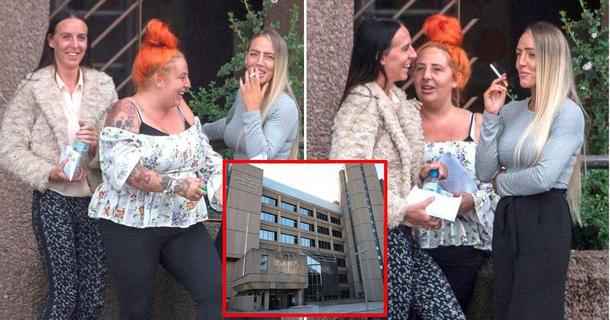 sisters3.png?resize=412,232 - Trois sœurs ont évité la prison de justesse grâce à leurs enfants