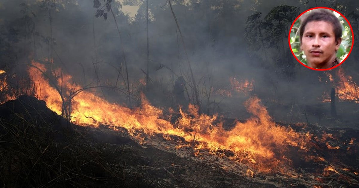 survival internationals director fears tribesmen who were seen in brazilian forests last month are still alive or not.jpg?resize=412,232 - Amazon Fire Isn't Just An Environmental Catastrophe, It's Very Harmful For The Indigenous People