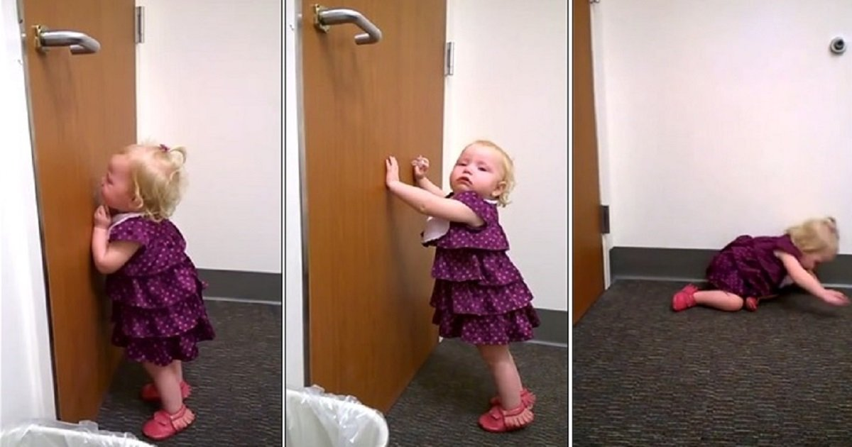 t4 1.jpg?resize=412,275 - A 2-Year-Old Threw An Insane Temper Tantrum After Finding Out Her Newborn Baby Sister Was Coming Home