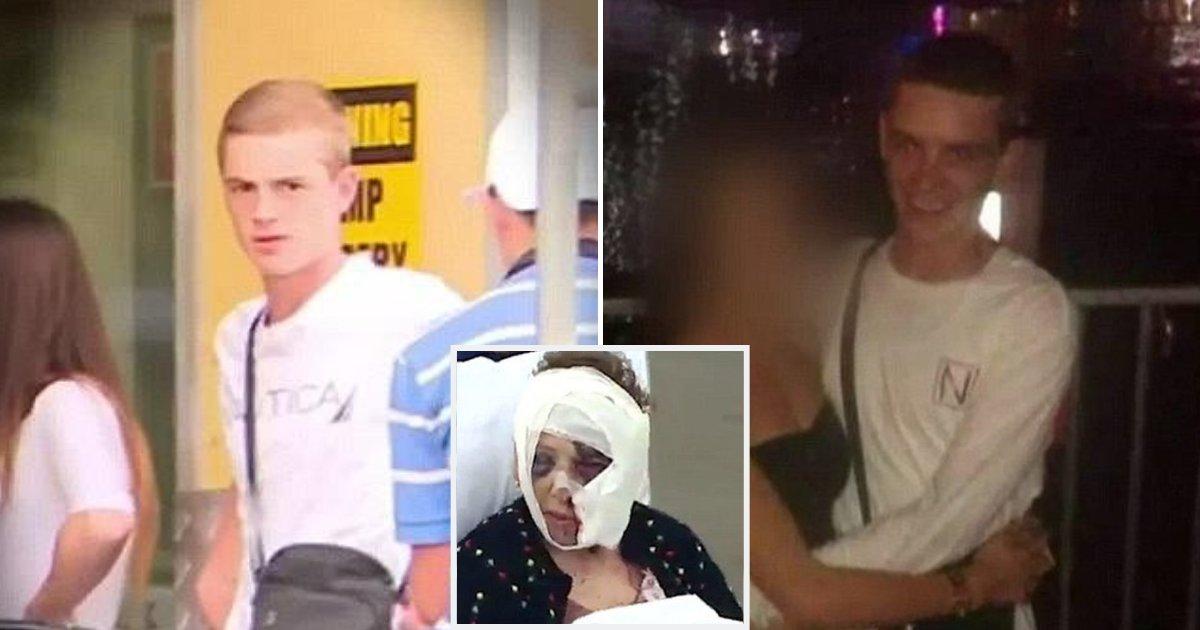 teen3.png?resize=412,232 - Un garçon de 18 ans qui a attaqué une grand-mère sans défense s'est retrouvé avec une mâchoire brisée après un combat avec un détenu