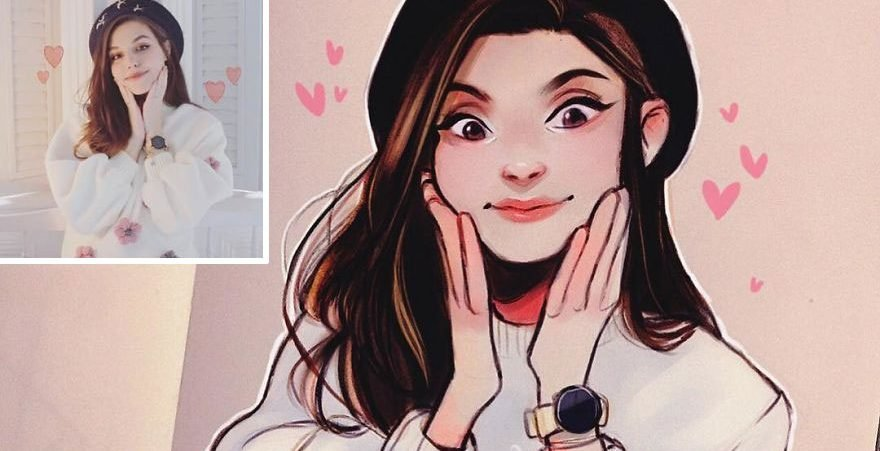 the dutch artist transforms girls into adorable cartoons and her work conquers millions of followers 5c8b7b85dfcfb  880 e1566487498634.jpg?resize=1200,630 - 30 Cartoon Illustrations By Talented Dutch Artist Laura Brouwers