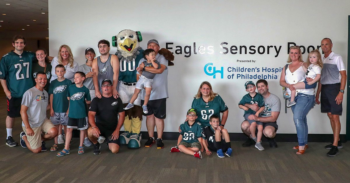 the philadelphia eagles build sensory room for fans with autism.jpg?resize=412,232 - The Philadelphia Eagles Built A Sensory Room For Fans With Autism