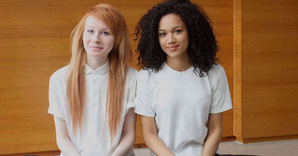these twin sisters look incredibly different from one another.jpg?resize=1200,630 - These Sisters Who Look Incredibly Different From One Another Are Indeed Biracial Twins