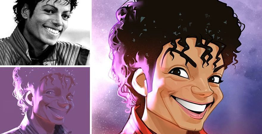 this artist continues to transform anyone into very cute cartoons 5c7d01240db3b  880 e1566052304965.jpg?resize=1200,630 - 30 Amazing Charicatures That Will Fascinate You