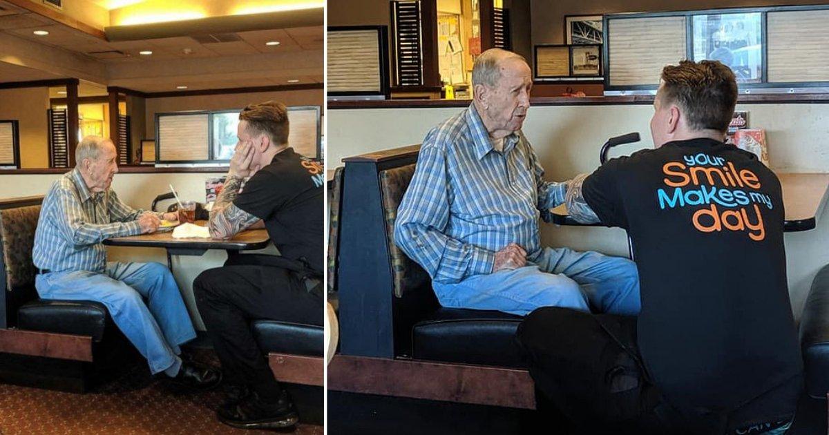 thumbnail 1.png?resize=412,232 - L'incroyable gentillesse de ce serveur envers un homme de 91 ans