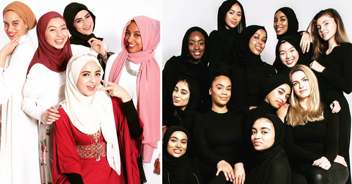 umma models.jpg?resize=412,232 - World's First 'Modest Modelling Agency' For Religious Models Who Don't Want To Compromise With Their Modesty