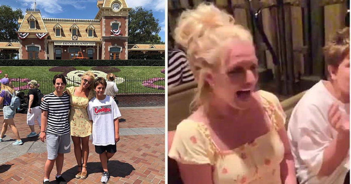 untitled 1 23.jpg?resize=412,232 - Britney Spears a passé une journée magique à Disneyland avec ses fils