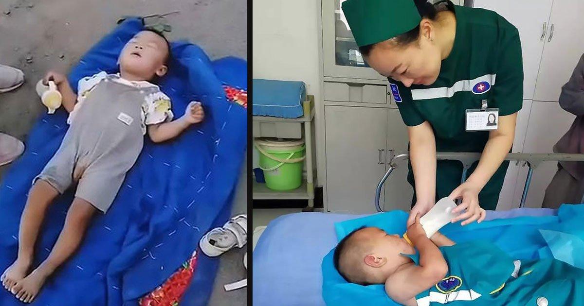 untitled 1 24.jpg?resize=366,290 - Un garçon atteint de paralysie cérébrale a été abandonné sur le bord de la route avec juste une couverture et une bouteille de lait