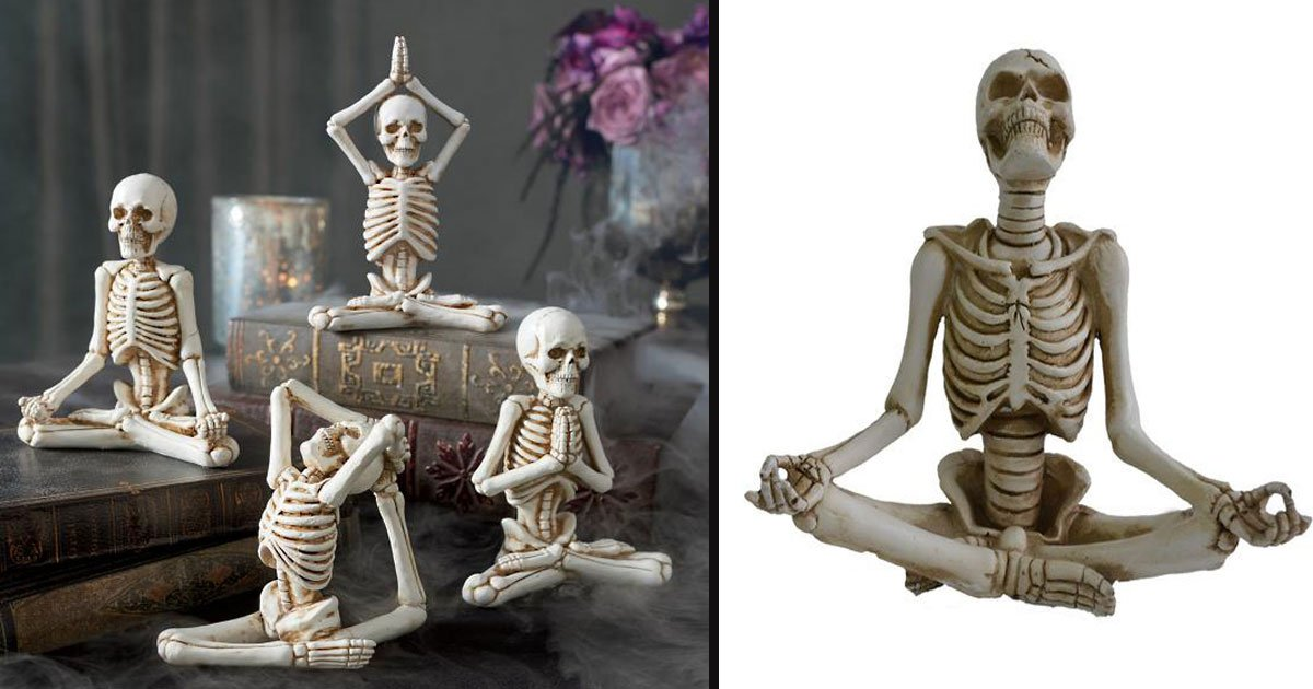 untitled 1 42.jpg?resize=1200,630 - These 'Yoga Skeleton' Figurines Will Make Your Upcoming Halloween Even 'Scarier'