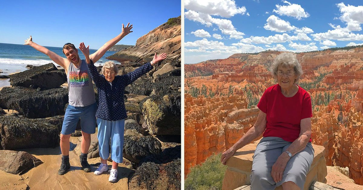 untitled 1 71.jpg?resize=412,232 - A Man Decided To Visit All 61 U.S. National Parks With His Grandmother
